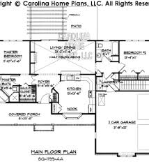 Small Ranch Style Home Plans by Ranch House Plans Pleasanton 30 545 Associated Designs Small