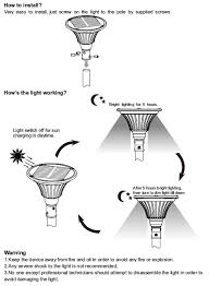 Solar Yard Lights Not Working - non electric led garden solar lighting for parks and courtyards