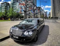 black bentley black bentley continental flying spur by exotic limo