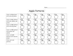 17 best images of color pattern worksheets for kindergarten