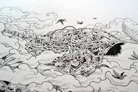 doodle drawings for sale illustration traditional doodle ink drawing artists on