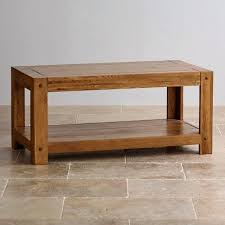 Oak Side Table Rustic Solid Oak Coffee Table Dg Quercus Rustic Solid Oak Side
