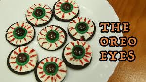last minute halloween treat using oreo youtube