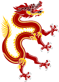 file dragon from chinese dragon banner red version svg wikimedia