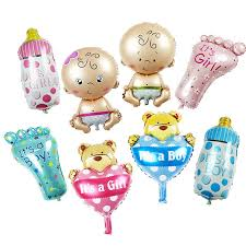 baby shower balloons 2pcs angel baby shower foil balloons baby boy girl birthday party