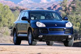 porsche cayenne 3 2 review 2004 porsche cayenne overview cars com