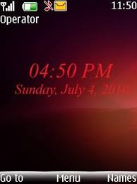 nokia 5130 menu themes free nokia 5130 red clock software download in themes wallpapers