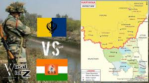 Gurgaon India Map by India Prepares For War With Sikh U0027s Hindutva Party Vows Punjab