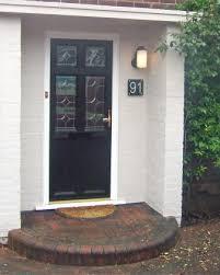 glass door signs contemporary glass door signs