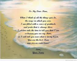 I Love My Son Poems And Quotes by Happy Birthday Mom Quotes Messages 2015 2016