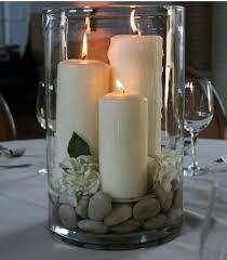 candle arrangements simple decoracion weddings centerpieces and