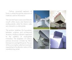Dynamic Roofing Concepts by Frank Gehry U0027s Architecture Of Chaos On Behance