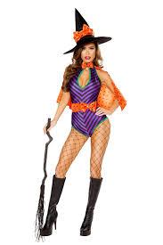 witch costume purple black orange 3 pc sweet witch costume