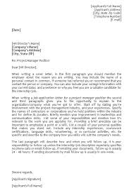 Advertisement General Cover Letter Templates Published On Job