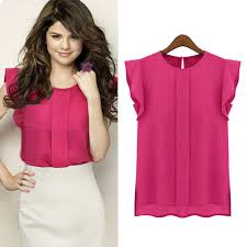 womens blouses for work 2018 fashion casual summer blouses chiffon sleeve