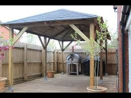 How To Build A Wood Awning Over A Deck How To Build A Wooden Gazebo Over Tub You Won U0027t Believe What