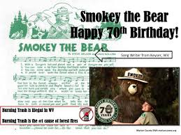 Only You Can Prevent Forest Fires Meme - happybirthday smokeybear usda wvforestry only you can prevent