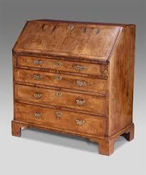 bureau secretaire antique antique walnut bureau georgian bureau walnut desk george ii