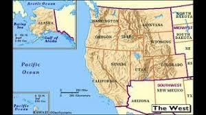 Us Region Map West Region Map My Blog Label Western Us States Printout