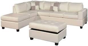 Leather Sofa Sleeper Sale White Bonded Leather Sleeper Sofa Centerfieldbar Com