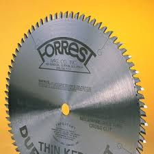 forrest table saw blades duraline hi a t saw blades for two sided laminates and veneers 10