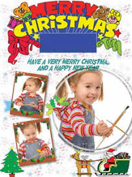 make photo collage christmas cards create your own photo cards