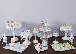 aliexpress com buy 12pcs set white wedding cake stand metal