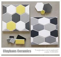 Hexagon Backsplash Tile by 18 Best Clayhaus Tile At H E Images On Pinterest Backsplash