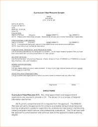 Sample Resume For Applying A Job by Example Of Resume For Job Application