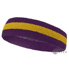 sports headbands purple golden yellow purple sports headbands sweatband