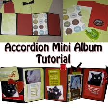 accordion photo album accordion mini album tutorial paper crafts mini