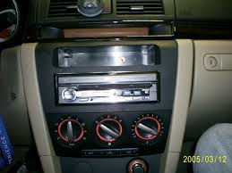 mazda3 how to keep stock clock display with aftermarket radio and