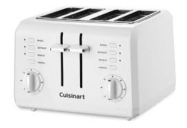 Bagel Setting On Toaster Amazon Com Cuisinart Cpt 142 Compact 4 Slice Toaster Kitchen