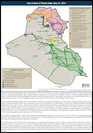 Terrain Map Isw Blog Iraq Control Of Terrain Map May 23 2016