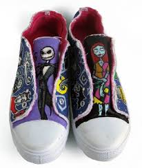 20 different pairs of the nightmare before custom shoes