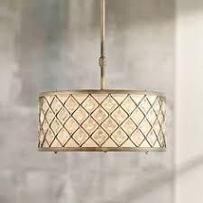 sausalito 25 wide silver gold pendant light sausalito 25 wide silver gold pendant light 95307 ls plus