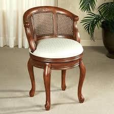 Swivel Vanity Chairs by Bathroom Wonderful Perfect Swivel Vanity Stool Mid Century V Back