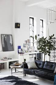 Pictures Of Living Rooms With Black Leather Furniture How To Decorate A Living Room With A Black Leather Sofa Decoholic