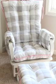 Cushion For Rocking Chair For Nursery Custom Chair Cushions Glider Cushions Rocking Chair Cushions