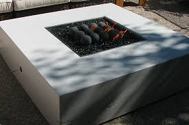 Modern Fire Pits by Modern White Fire Pit Dig This Design