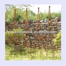 metal obelisk wrought iron garden ornaments metal obelisk for