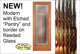 etched glass pantry doors pantry doors can be ready made or custom the glass door store