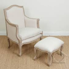 Fantastic Furniture Armchair French Shabby Chic Beige Marie Armchair U0026 Footstool 265 00 A