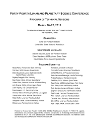 the complete printed program