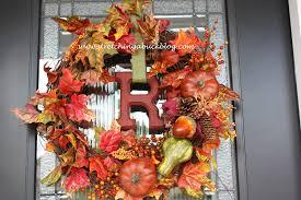 decorating autumn wreaths for wonderful wall and door decor ideas