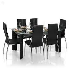 6 Black Dining Chairs Dining Chairs Amusing Dining Chairs Set Of 6 6 Dining Room Chairs