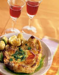 cuisiner cote de veau recette côtes de veau rôties au jus de persil