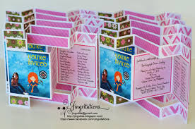 Disney Princess Invitation Cards Baptism Jingvitations