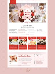wedding cake websites wedding cake website template