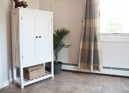 how to make storage cabinets diy wooden storage cabinet diy huntress